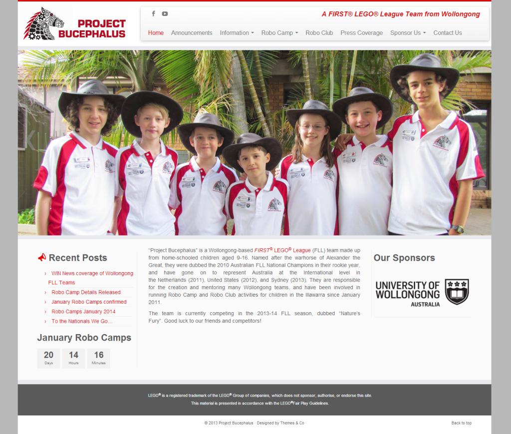 Project Bucephalus' New Website